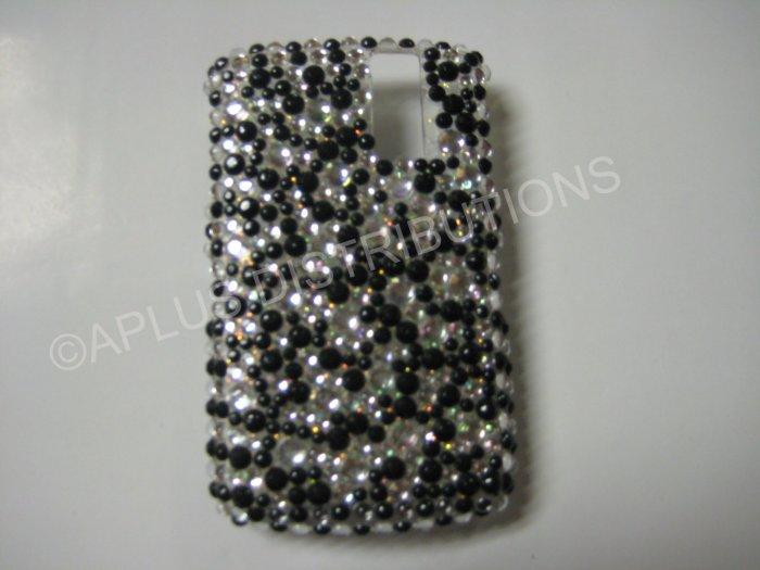New Black Multi-Diamonds Bling Diamond Case For Blackberry 8300 - (0013)