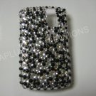 New Black Multi-Diamonds Bling Diamond Case For Blackberry 8300 - (0013)
