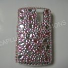 New Pink Multi-Size Diamonds Bling Diamond Case For Blackberry 8300 - (0015)