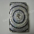 New Black Diamond In Circle Bling Diamond Case For Blackberry 8520 - (0023)