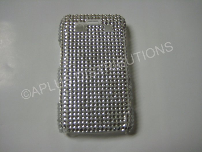 New Clear Solid Bling Diamond Case For Blackberry 9700 - (0097)
