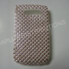 New Pink Diamonds N Pearls Bling Diamond Case For Blackberry 8900 - (0061)