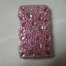 New Hot Pink Multi-Size Diamonds Bling Diamond Case For Blackberry 9700 - (0091)