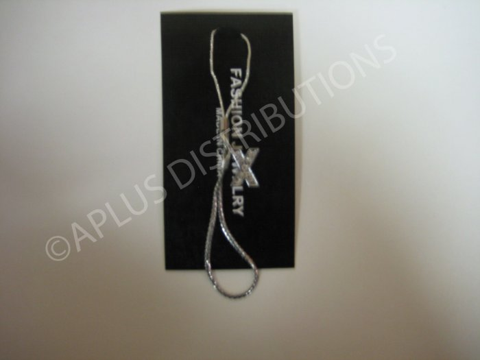 NEW Crystal Cell Phone Charm-  Small Letter �X� Regular