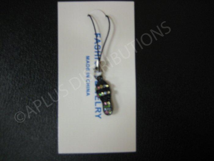 NEW Crystal Cell Phone Charm- Mutli Color Sandal Mutli-Diamonds