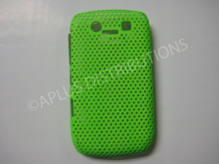 New Green Lattice Pattern Design Hard Protective Cover For Blackberry 8900 - (0055)