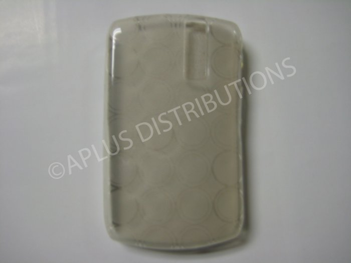 New Clear Transparent Multi-Circles TPU Cover For Blackberry 8300 - (0038)