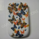 New Orange Butterfly Series  TPU Cover For Blackberry 8520 - (0032)