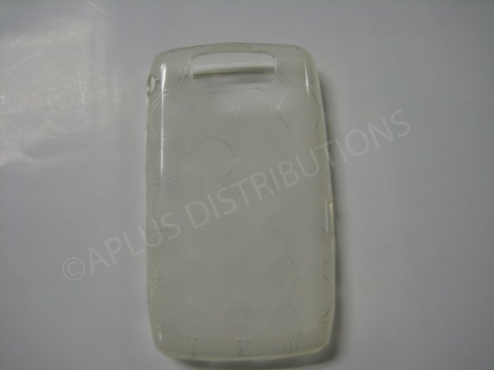 New Clear Transparent Multi-Circles TPU Cover For Blackberry 9550 - (0038)
