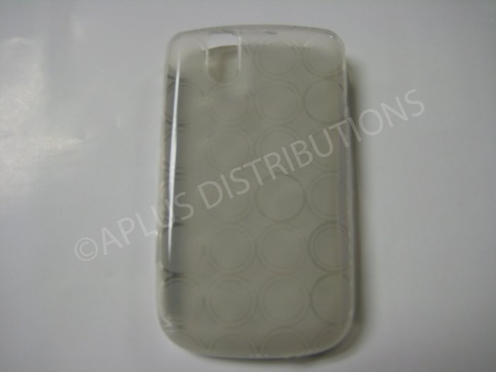 New Clear Transparent Multi-Circles TPU Cover For Blackberry 9630 - (0038)