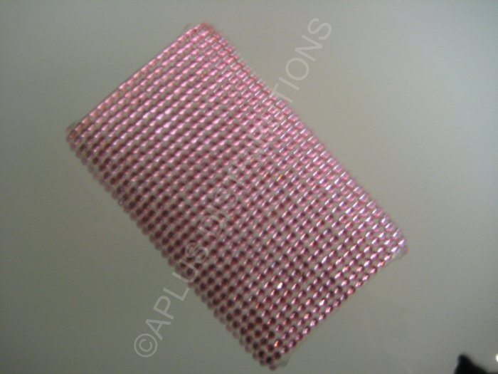 NEW FASHIONABLE BLING SOLID DIAMONDS FOR IPOD TOUCH 2ND 3RD GENERATION- PINK