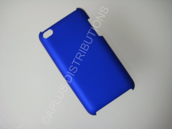 NEW Hard Protective Case For 4TH GENERATION SOLID HARD COVER IPOD TOUCH- BLUE