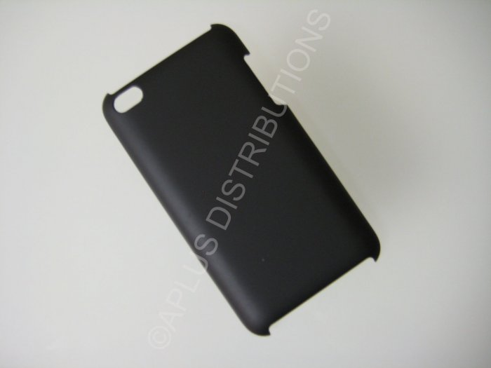 NEW Hard Protective Case For 4TH GENERATION SOLID HARD COVER IPOD TOUCH- BLACK