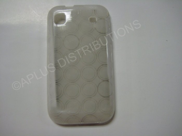New Clear Transparent Multi-Circles TPU Cover For Samsung Galaxy S I9000 - (0002)