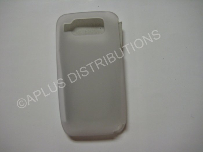 New Clear Solid Color TPU Cover For Nokia E72 - (0024)