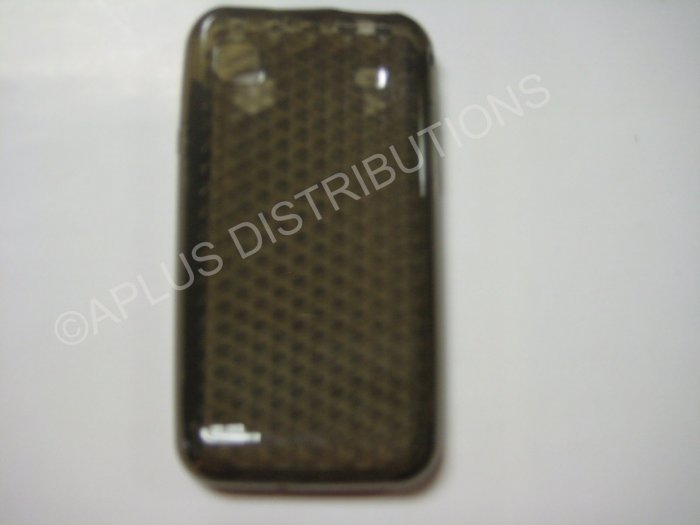 New Smoke Diamond Cut Pattern TPU Cover For Samsung Galaxy S I9000 - (0010)