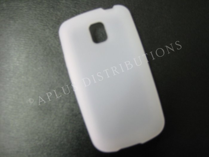 New Clear Solid Color Silicone Skin Case For LG Optimus T P509 - (0007)