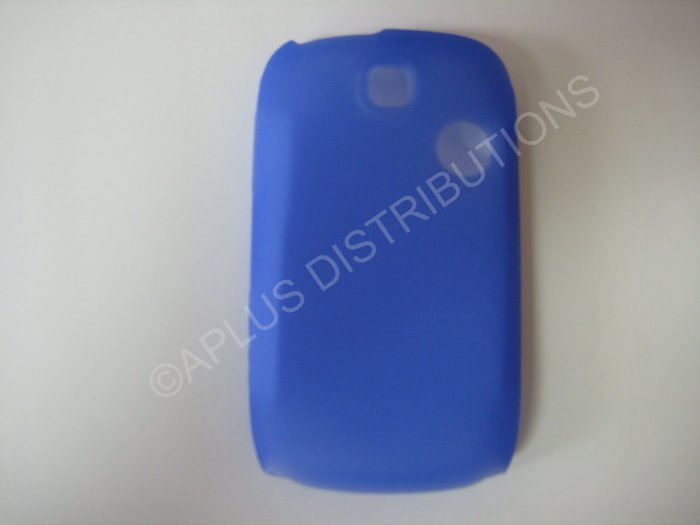 New Light Blue Solid Color Silicone Skin Case Cover For T-Mobile Tap  - (0010)