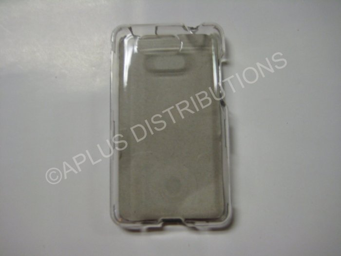 New Clear Solid Color Hard Protective Cover For HTC Aria - (0059)
