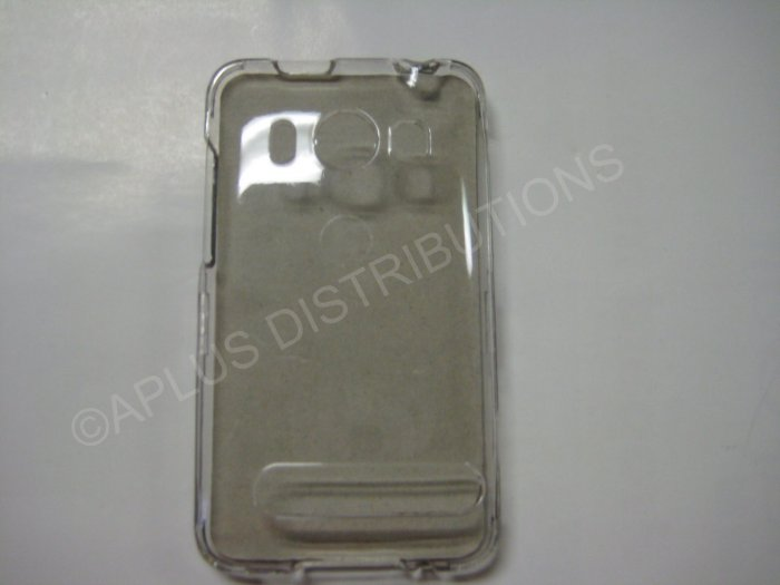 New Clear Transparent Hard Protective Cover For HTC Evo 4G - (0059)
