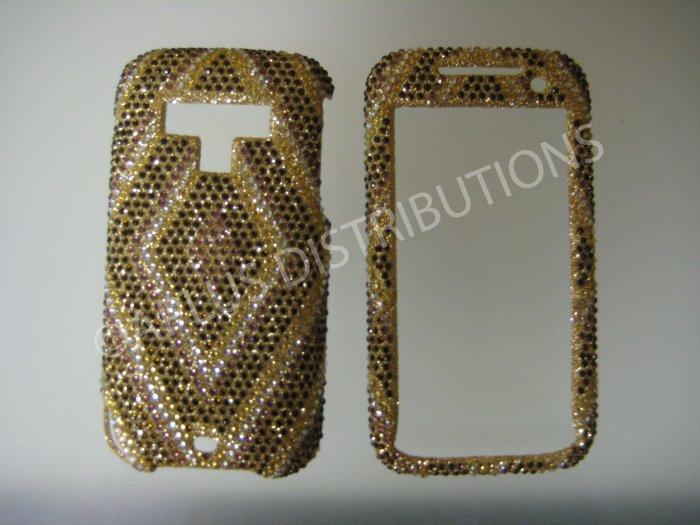 New Gold Diamond Pattern Bling Diamond Case For HTC Tilt 2 - (0023)