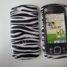 New Black Zebra Design Hard Protective Cover For Motorola Cliq XT MB501 - (0001)