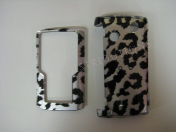 New Black Cheeta Pattern Hard Protective Cover For Samsung Comback T559 - (0033)