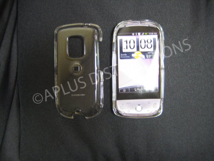 New Clear Transparent Hard Protective Cover For HTC Hero Cdma - (0059)