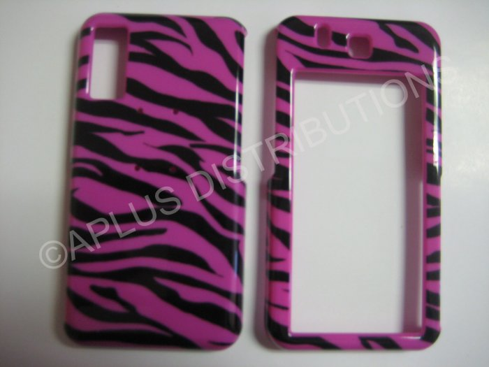 New Black Zebra Design Hard Protective Cover For Samsung Behold T919 - (0002)