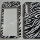 New Black Zebra Design Hard Protective Cover For Samsung Behold T919 - (0001)