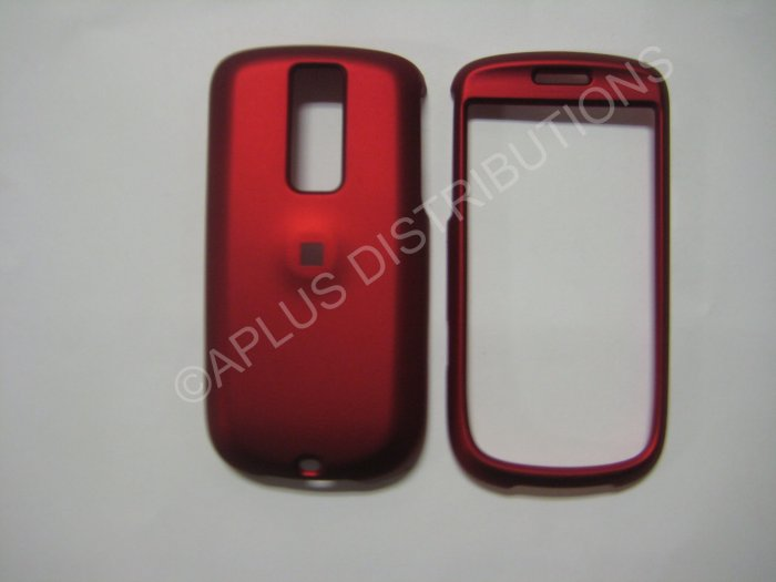 """New Red Rubberized Hard Protective Cover For HTC My Touch """"G2"""" - (0054)"""