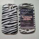 New Black Zebra Design Hard Protective Cover For HTC My Touch Slide 3G - (0001)