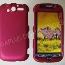 New Hot Pink Rubberized Hard Protective Cover For HTC My Touch 4G - (0055)