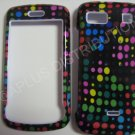 New Multi-Color Dots Design Hard Protective Cover For LG Xenon GR500 - (0007)