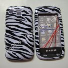 New Black Zebra Design Hard Protective Cover For Samsung Impression A877 - (0001)