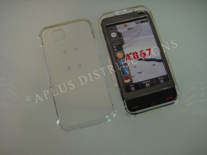 New Clear Transparent Hard Protective Cover For Samsung Eternity A867 - (0059)