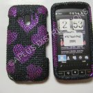 Hot Pink Multi-Hearts Bling Diamond Case For HTC Touch Pro 2 (GSM) - (0001)