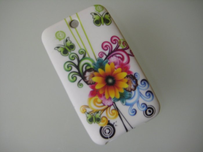 NEW FOR IPOD TOUCH 2ND & 3RD GENERATION SUN FLOWER-YELLOW AND GREEN