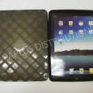 NEW Lattice Design Silicone Gel Case Skin For iPad - Smoke