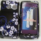 New Dark Blue Midnight Flower Hard Protective Cover For LG Rumor Touch LN510 - (0023)