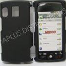 New Black Rubberized Design Hard Protective Cover For Kyocera Zio M6000 - (0051)