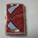 New Red Spider Man Bling Diamond Case For Blackberry 9500 - (0079)