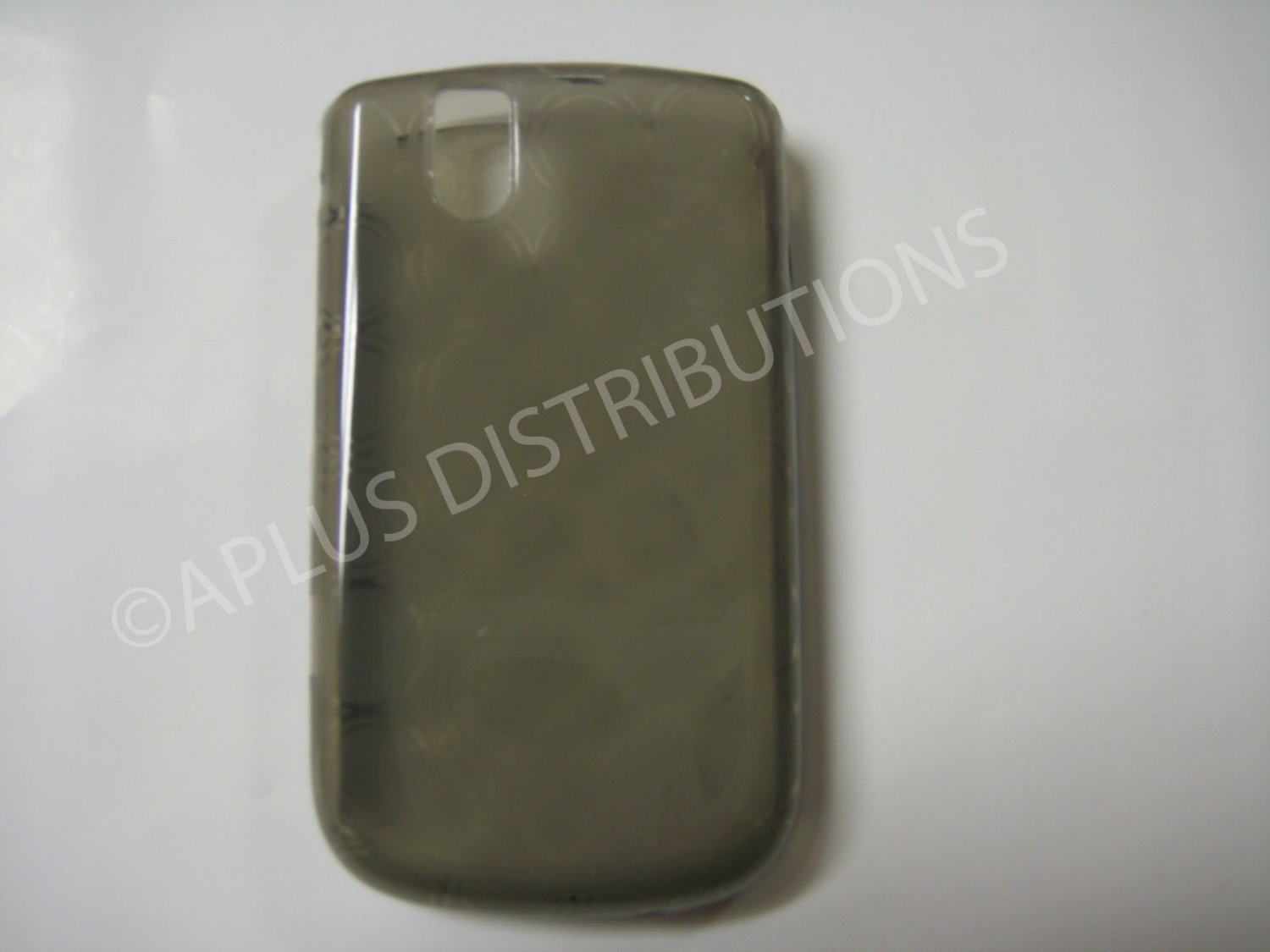 New Smoke Transparent Multi-Circles TPU Cover For Blackberry 9630 - (0040)