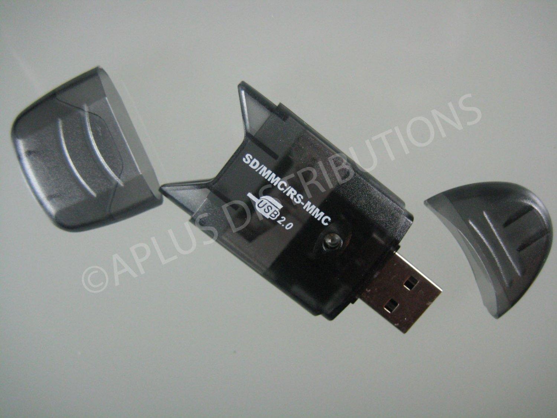 SD SDHC MMC Memory Card Reader 2.0 USB For 4G 8G 16G - SMOKE