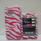 New Red Zebra Design Hard Protective Cover For HTC G1 Dream - (0047)