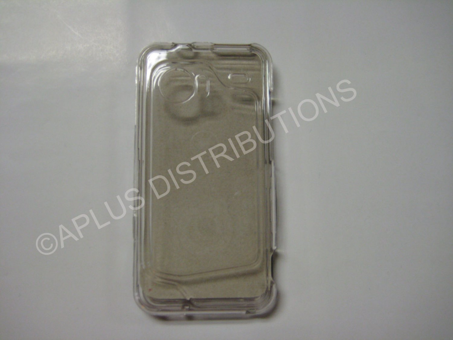 New Clear Transparent Hard Protective Cover For HTC Droid Incredible - (0059)