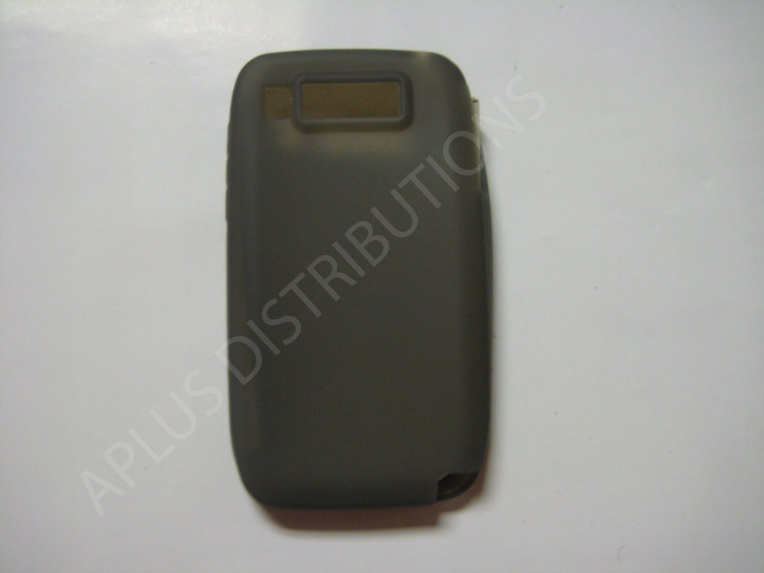 New Smoke Solid Color Silicone Skin Case For Nokia E72 - (0012)