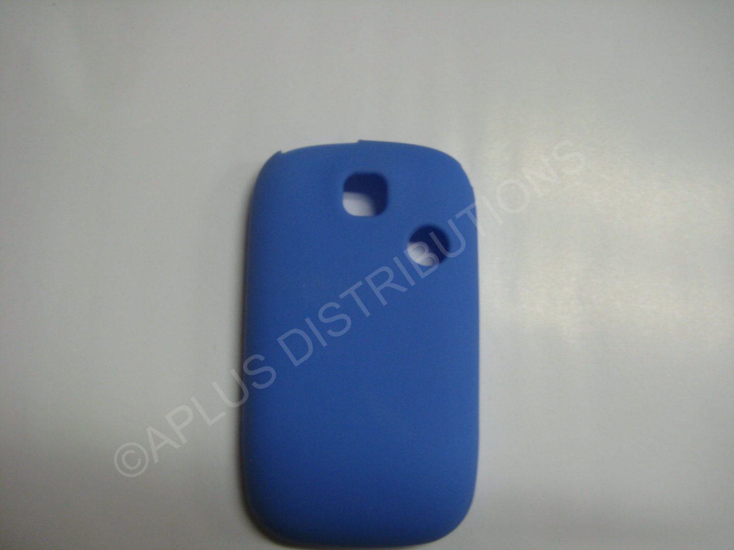 New Dark Blue Solid Color Silicone Skin Case Cover For T-Mobile Tap  - (0011)