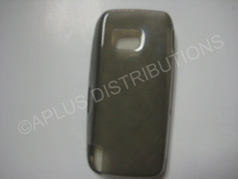 New Smoke Transparent Multi-Circles TPU Cover For Nokia Nuron 5230 - (0001)