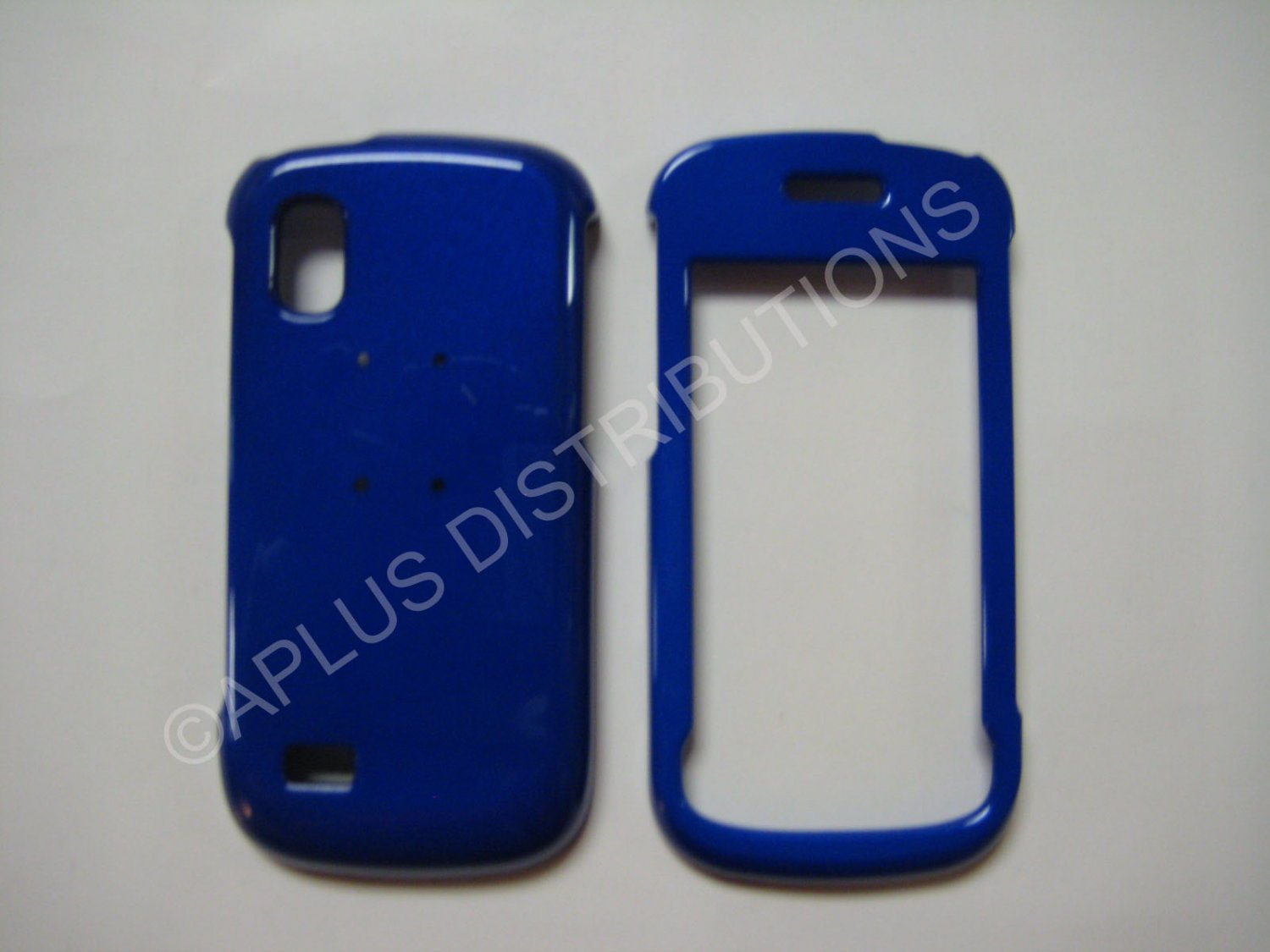 New Blue Solid Color Hard Protective Cover For Samsung Solstice A887 - (0067)